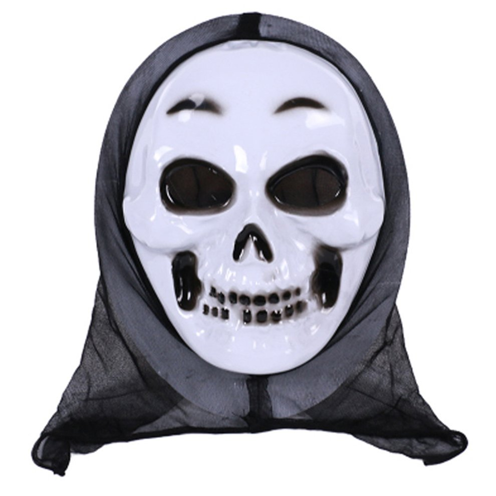 Details about Adult Scream Mask Halloween Ghost Face Horror Fancy Dress  Accessory New UK