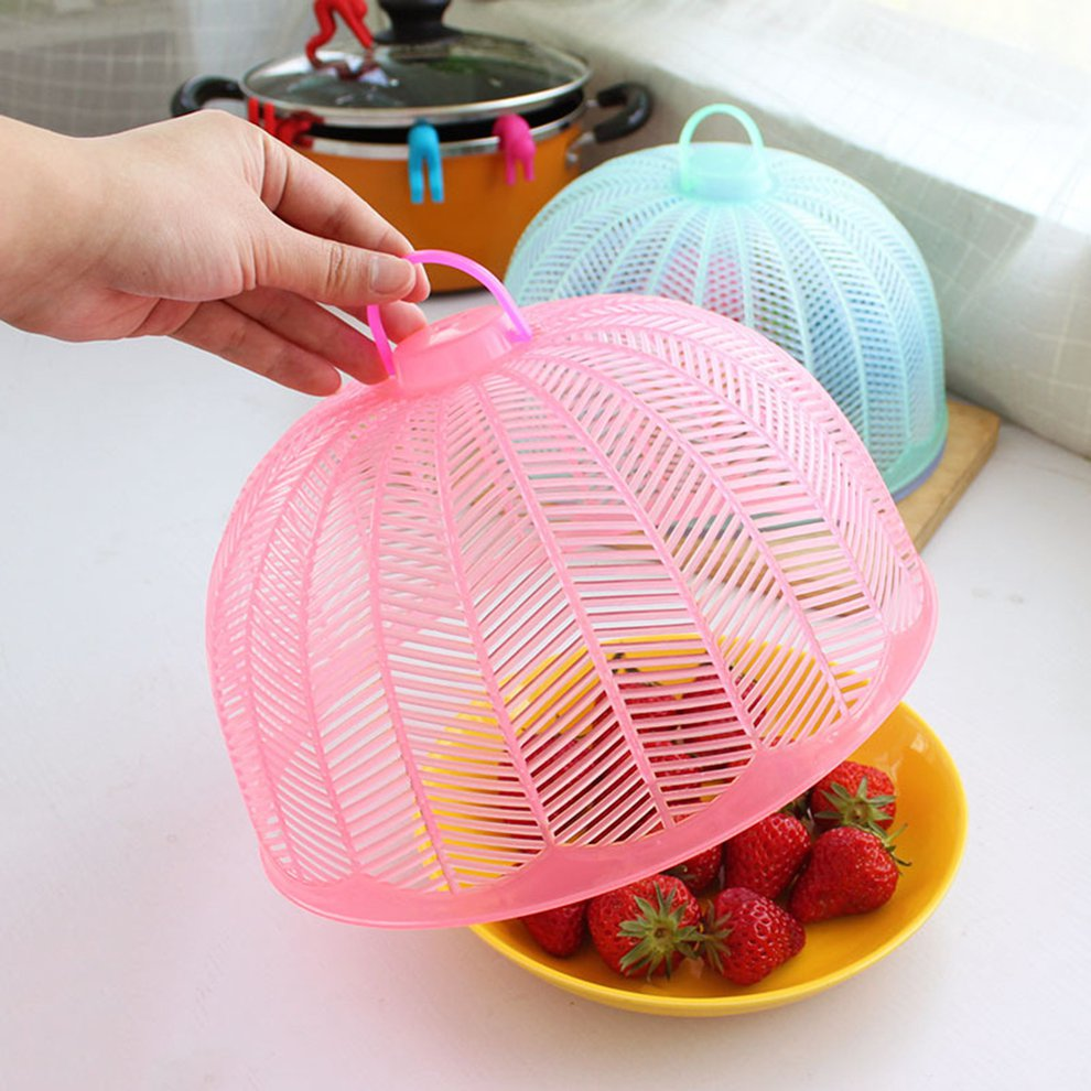 Food Cover Umbrella Shape Picnic Party Anti Fly Mosquito Net Table