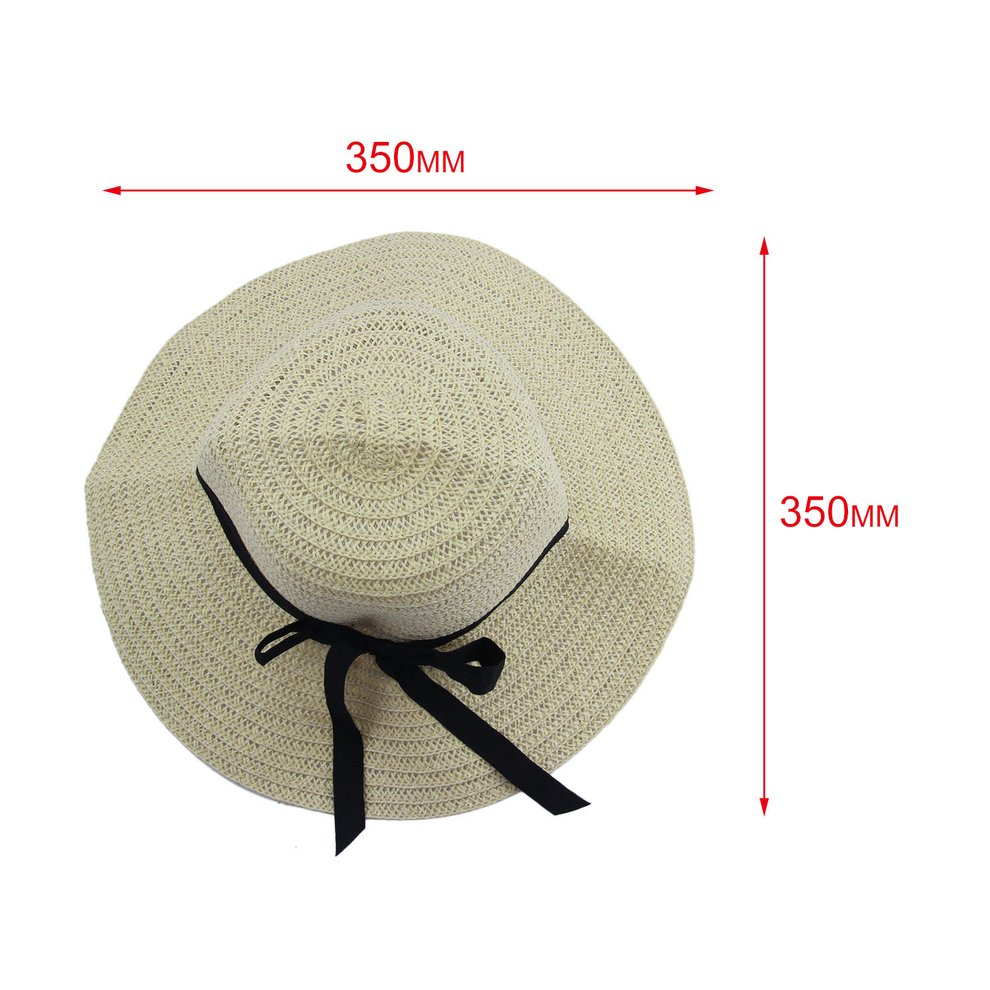 Fashion Elegant Women Girls Outdoor Sun Hats Caps Summer Beach Hat ... 15c0462cce41