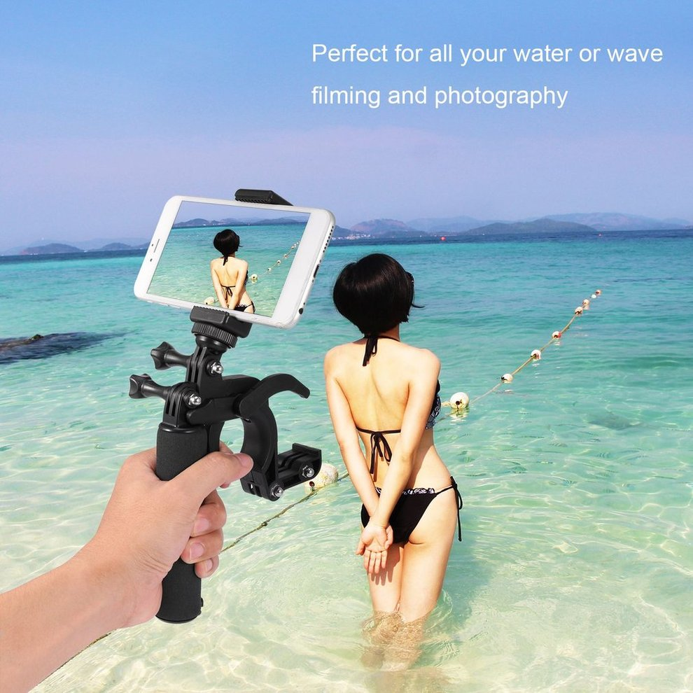 ZN652700  Floating Grip Handle Buoyancy Stick Sports Camera Shutter Trigger for Go Pro