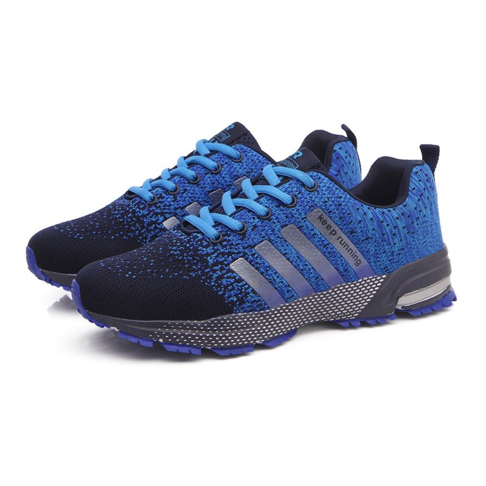 Fashion Sneakers Shock Absorption Breathable Couples Shoes Sport Running Shoes K