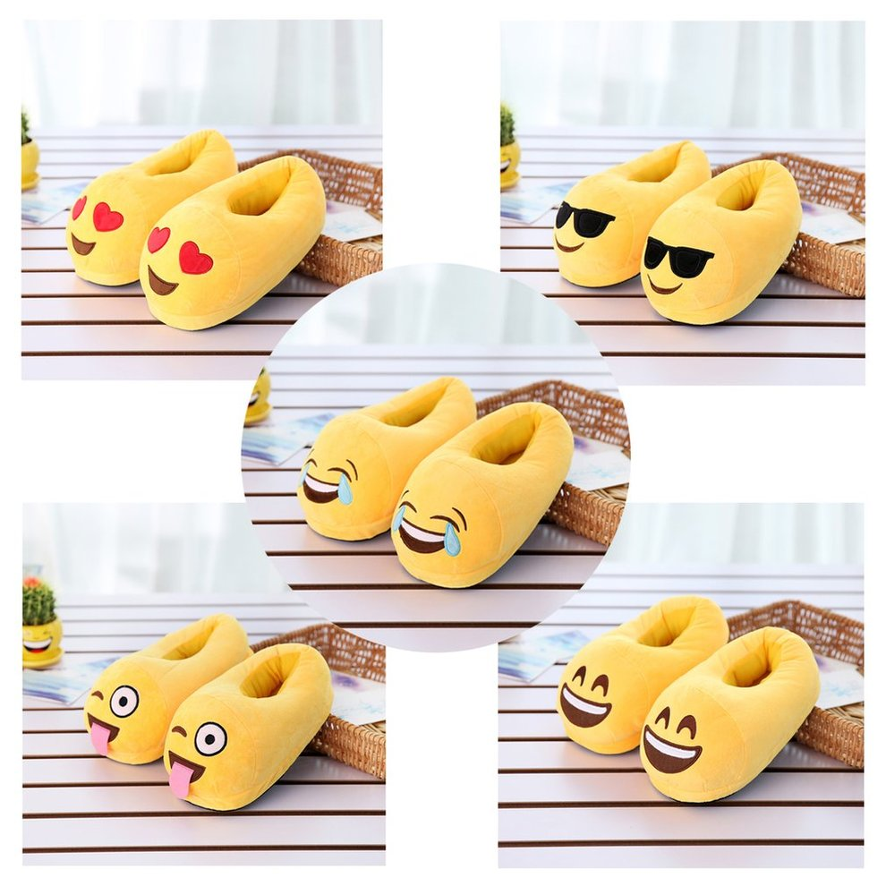 7eca9ea3f38 Indoor Warm Slippers Winter Cotton Plush Slipper Lovely Cartoon Shoes  Slippers M
