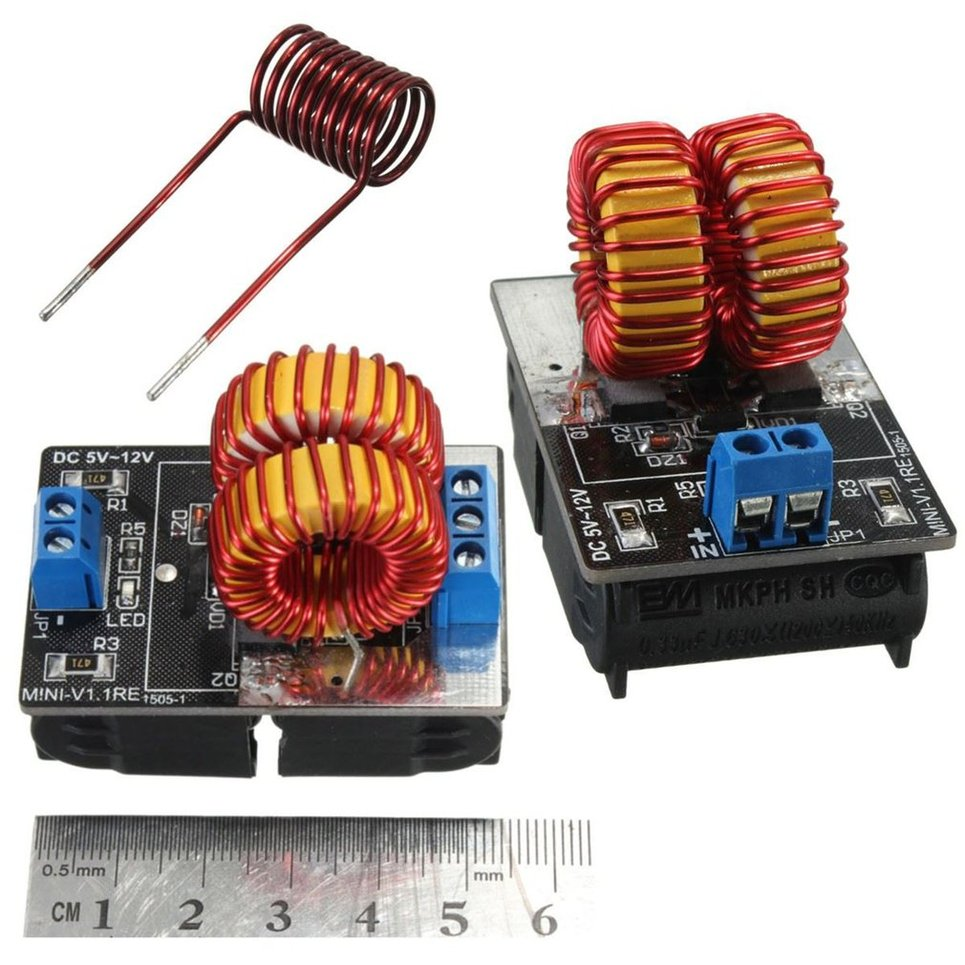 Heating Coil For Boiler ~ Pro v low voltage zvs induction heating power supply